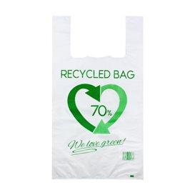 Plastic Hemddraagtassen 70% Gerecycled 50x60cm 50µm (700 stuks)