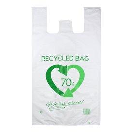 Plastic Hemddraagtassen 70% Gerecycled 80x90cm 50µm (50 stuks)
