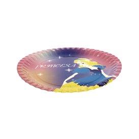 Papieren bord Princess Design 18cm (504 stuks)