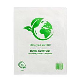 Plastic zak Block 100% Home Compost 25x37cm (100 stuks)