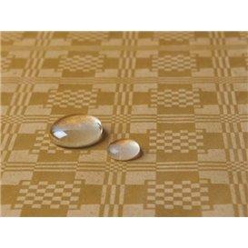 Tafelkleed rol Waterdicht goud 1,2x5m (10 Stuks)