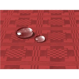 Tafelkleed rol Waterdicht rood 1,2x5m (1 Stuk)
