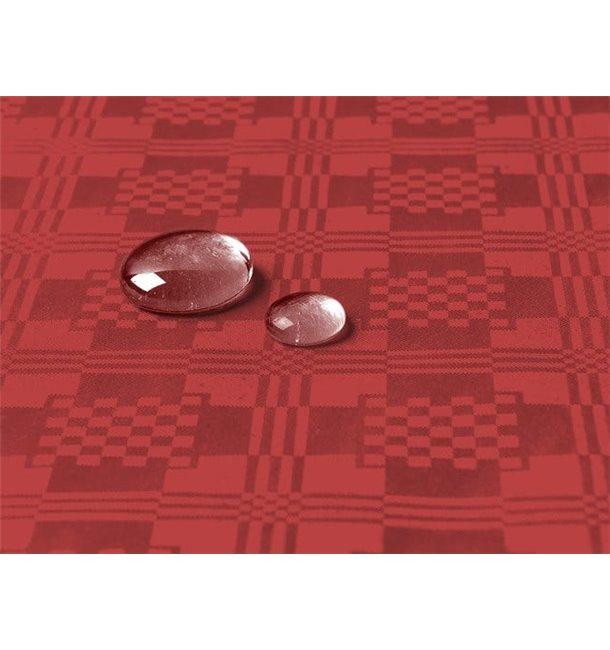Tafelkleed rol Waterdicht rood 1,2x5m (10 Stuks)
