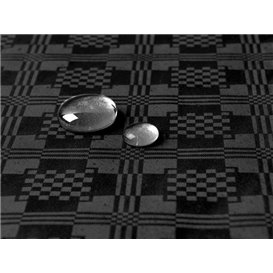 Tafelkleed rol Waterdicht zwart 1,2x5m (1 Stuk)