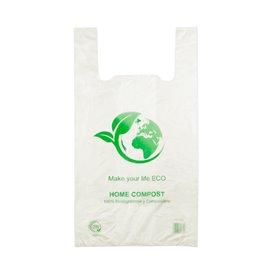 Plastic Hemddraagtassen 100% Biologisch afbreekbaar 30x40cm (2.000 stuks)