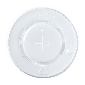 Deksel voor beker PS kruising 8, 9, 12 Oz 375 ml Ø8,0cm (100 stuks)