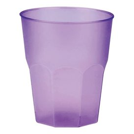 """Plastic PP beker """"Frost"""" lila 270ml (420 stuks)"""