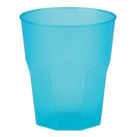"""Plastic PP beker """"Frost"""" turkoois 270ml (20 stuks)"""
