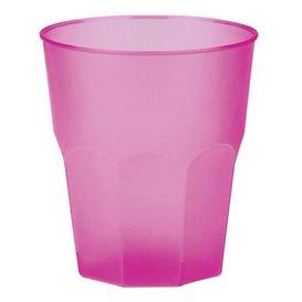 """Plastic PP beker """"Frost"""" fuchsia 270ml (420 stuks)"""