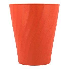"Plastic PP beker ""X-Table"" oranje 320ml (8 stuks)"