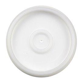 Plastic Deksel PS Doorzichtig Ø6,9cm voor Schuim beker 4Oz/120ml (1000 stuks)