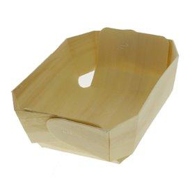 Houten steunplateau dienblad 14,0x9,5x5,0cm (400 stuks)