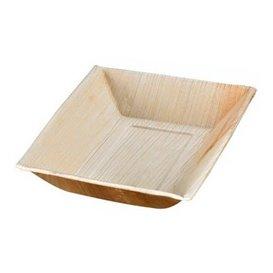 Palm blad dienblad Rechthoekige vorm 17,7x12x3cm (25 stuks)