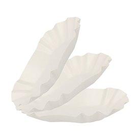 Kartonnen Snackbakjes Ovaal 15,5x9,5x2,5cm (2000 stuks)