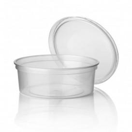 Plastic deli Container transparant PP 350 ml Ø11,5cm (50 stuks)