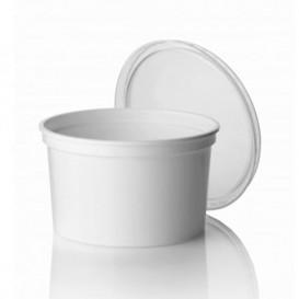Plastic deli Container wit PP 500ml Ø11,5cm (500 stuks)
