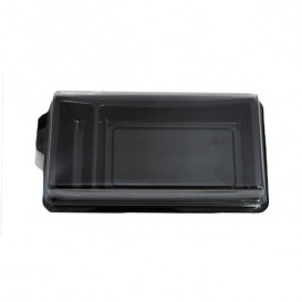 Envase para Sushi Negro 148x78mm(1200 Uds)