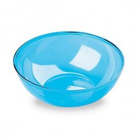 Plastic Kom PS Kristal Hard turkoois 400ml Ø14cm (60 stuks)
