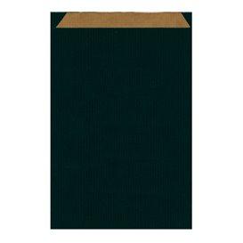 Papieren envelop kraft zwart 26+9x38cm (750 stuks)