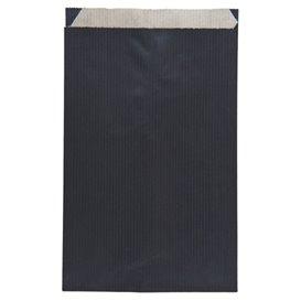 Papieren envelop kraft zwart 12+5x18cm (1500 stuks)