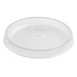 Plastic Deksel PP Plat transparant Ø11,7cm (50 stuks)
