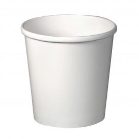 Papieren Container wit 16Oz/473ml Ø9,8cm (25 stuks)