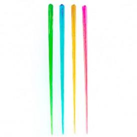 Plastic roerstaafje PS Fluofescent 17,5cm (100 stuks)