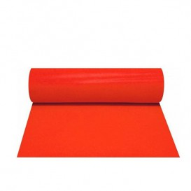Novotex tafel loper rood 50g P30cm 0,4x48m (6 stuks)