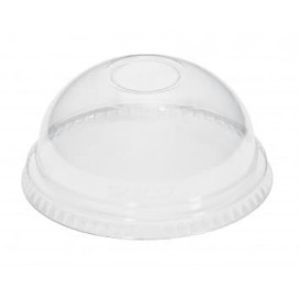 Plastic PET koepel Deksel Kristal Ø8,1cm (1000 stuks)