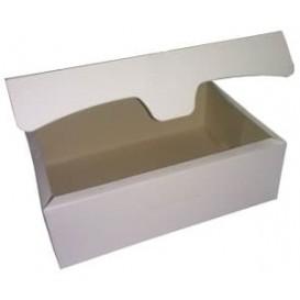 Gebakdoos karton Witte 250g wit 17,5x11,5x4,7cm (20 stuks)