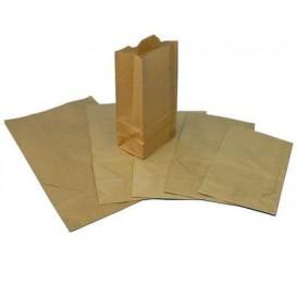 Papieren zak zonder handvat kraft 30+18x43cm (250 stuks)
