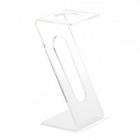 Plastic fluit Sten 1 Slot transparant (2 stuks)