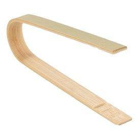 Bamboe Bediening tang 8cm (500 stuks)
