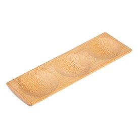 Bandeja de Bambu 18x5,5x1cm (300 Uds)