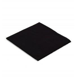 Papieren servet zwart 20x20cm 2C (6.000 stuks)