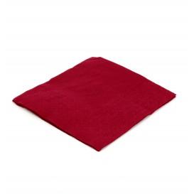 Papieren servet bordeauxrood 20x20cm 2C (100 eenheden)