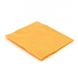 Papieren servet geel 20x20cm (6.000 stuks)