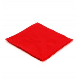 Papieren servet rood 20x20cm (6.000 stuks)